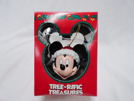 Disney Mickey Mouse Head w Santa Hat  Christmas... - $14.84