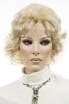 Light Golden Blonde Blonde Long Medium Jon Renau Large Cap Wavy Curly Wigs - $122.56