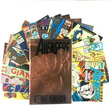 Avengers 15 Comic Lot Marvel Vision Captain America Scarlet Witch Black Knight  - $34.60