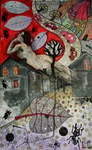 Illustration. Print. Poster. Gift. Art. Home. R... - $80.00