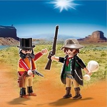 Playmobil Sheriff & Outlaw Play Set #5512 7 pieces - $8.99