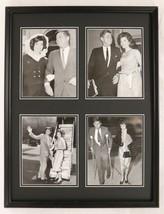 President John F Kennedy JFK Framed 18x24 Photo Collage w/ Jackie O - $89.09