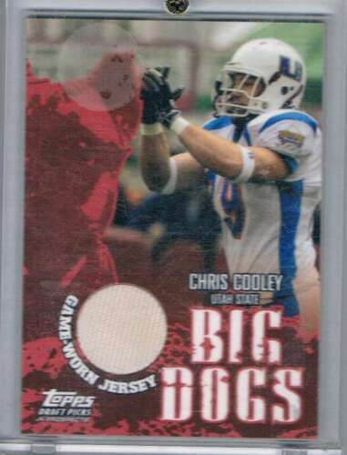 2004 Topps Draft Picks and Prospects Big Dog Relics #BDCCO Chris Cooley NM-MT