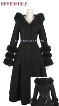 New Pyon Pyon Reversible Gothic Jacket Coat Black LY036 Fast Postage - $114.94
