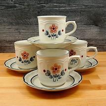 "Set 4 Tasses Et Soucoupes Hearthside Cumberland Brambleberry 237ml "" (25... - $9.45"