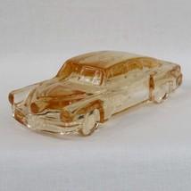 Boyds Crystal Art Glass 1948 Tucker Torpedo Car, #14 Peach Glass, Translucent Gl - $45.00
