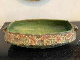 "Roseville Circa 1930's Blackberry Art Pottery Console Bowl 13 1/4"" - $899.00"