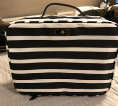 Kate Spade Travel Cosmetic Bag DAWN  Nylon Case NEW - $74.24