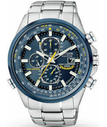 "Citizen Men's AT8020-54L ""Blue Angels"" Stainless Steel Eco-Drive Dress W... - $354.42"