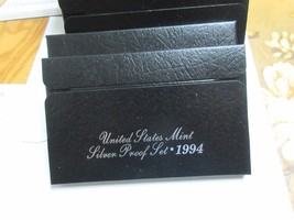 1994 U.S. Mint Silver Proof Set , Lot of 5 , New In Original Mint Package image 2