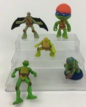 Teenage Mutant Ninja Turtles Figures Toy 5pc Lot Playmates Toys McDonald... - $10.84