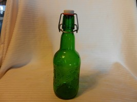 Vintage 16 Oz. One Pint Grolsch Brewery Green Swing Top Lid Glass Bottle Holland - $18.55