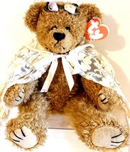 """Ty Attic Treasures 1993 Eve You're The Apple Of My Eye! Plush Jointed Bear 12"""" - $14.65"""
