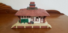 Vintage Partylite Train Station The Whistle Stop Tea Light Candle Holder - $19.79