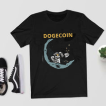 Dogecoin To the Moon Miner shirt Doge Mining HODL Crypto T-Shirt Size S-5XL - $21.99+