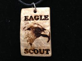 Necklace - Scout Eagle Coconut Pendant Necklace - $10.00