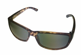 Perry Ellis Mens Sunglass Tortoise Plastic Soft Rectangle, Brown Lens PE... - $17.99