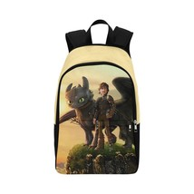 How to Train Your Dragon Adult Casual Waterproof Nylon Backpack Bag - $52.16 CAD