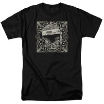 CBGB Retro 70s Punk Rock Bar NY City graphic black cotton T-shirt CBGB105 image 1