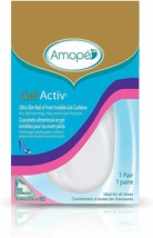 Amope GelActiv Invisible Gel Heel Cushions Insoles for Women, 4 pairs Si... - $24.00