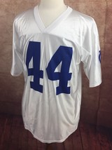 Indianapolis Colts #44 Dallas Clark NFL Team Apparel White Jersey Shirt ... - $261,57 MXN