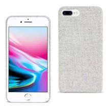 REIKO IPHONE 8 PLUS HERRINGBONE FABRIC IN LIGHT GRAY DF01-IPH8PLSLTGY - $12.99