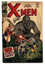 X-MEN #34 Comic Book 1967-MARVEL COMICS-Cyclops Vg - $31.53