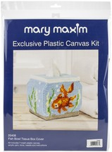 "Mary Maxim Plastic Canvas Tissue Box Kit 5""-Fish Bowl (7 Count) - $13.30"