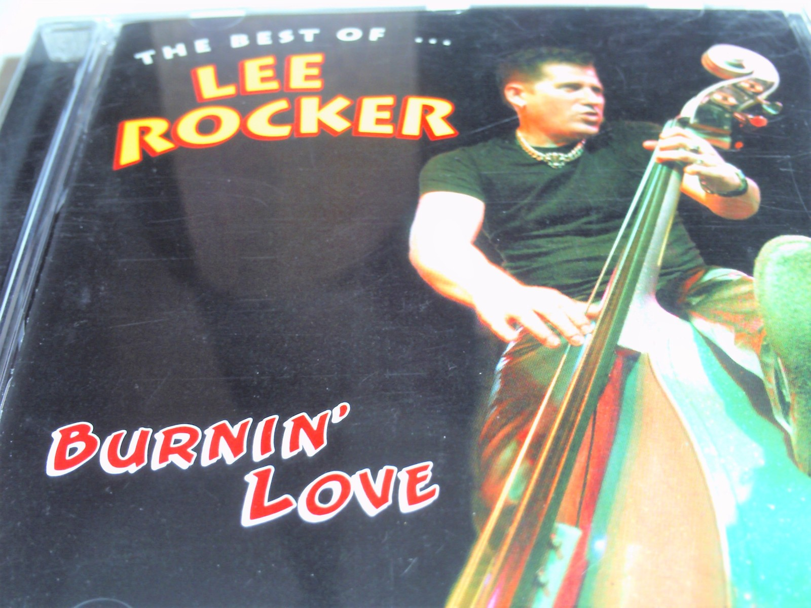 Lee Rocker Burnin' Love - The Best of Lee Rocker CD