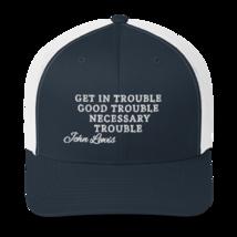 Good Trouble John Lewis Hat / Good Trouble Hat / John Lewis Trucker Cap image 7