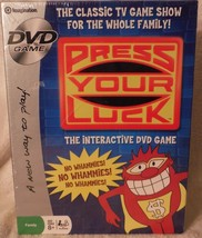 New DVD Game Press Your Luck 2006 Imagination Classic TV Game Show No Wh... - $15.88