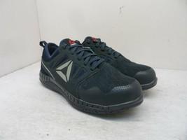 Reebok Work Women's Low Zprint SR Steel Toe Athletic Work Shoes Navy Siz... - $56.99