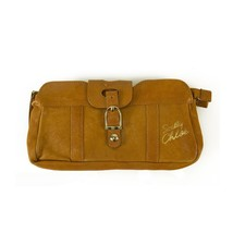 See by Chloe Tan Leather Zipper Top w. Card Slots Clutch Bag Handbag or ... - $163.35