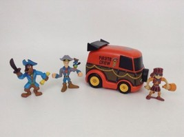 LOT 4 Hanna-Barbera Scooby-Doo Action Figures Toys Scooby Velma Fred Pir... - $19.75