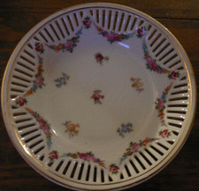3 Lovely Dresden Reticulated Bowls  - $29.99