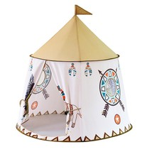 Kids Teepee Tent Play House Indian Castle Portable Indoor Outdoor Play Hut - $49.96