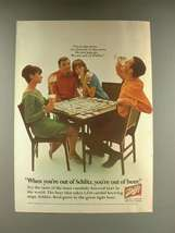 1968 Schlitz Beer Ad, Monopoly - Go Directly to Store - $14.99