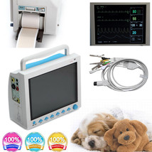 Veterinary Portable ICU Patient Monitor 6 Parameter Vital Signs Monitor,... - $602.91