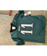 NFL Philadelphia Eagles Boys' Carson Wentz Short Sleeve Jersey - L - $12.00
