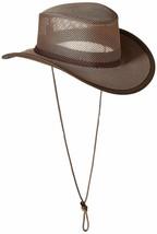 Stetson Men's Mesh Covered Hat X-Large Walnut - $79.99