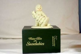 "Dept 56 Snowbabies I'll Put Up The Tree FIgurine 4"" MIB #6800-4 WInter T... - $6.92"