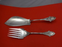 Italian by Tiffany & Co. Sterling Silver Fish Serving Set 2pc Brite-Cut - $2,422.50