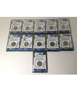 "LOT 11 Western Digital 500GB SATA 2.5"" Laptop Hard Drive WD5000LPVX 7mm ... - $188.10"