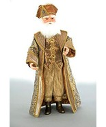 "Katherine's Collection Celebration Santa Claus Gold 20"" - $225.00"