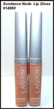 "2 X NEW & FACTORY SEALED ""Lipsplash"" Sparkle Lip Gloss  Sun Dance Nude #... - $9.95"