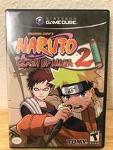 NARUTO CLASH OF NINJA 2 GAMECUBE GAME-IN MATCHING CASE image 1