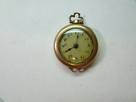 GOLD FILLED ANTIQUE VINTAGE WATCH FOR RESTORATION REPAIR OR TRENCH PARTS - $144.16