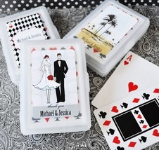 100 Personalized Playing CARDS Wedding Favor Asst Designs Spring Summer ... - $90.20