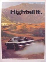 1973 Chevrolet EL CAMINO Conquista San Gabriel Mountains California Prin... - $9.99