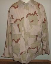 Desert Camouflage Combat BDU Coat TACTICAL Shir... - $12.74